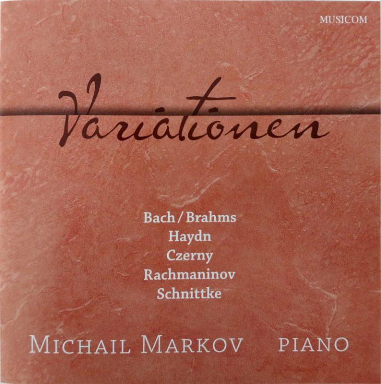 Michail Markov - Variationen album cover